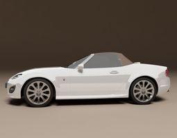 Mazda MX5 car 3D Model