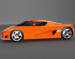 Koenigsegg_CCR 3D Model