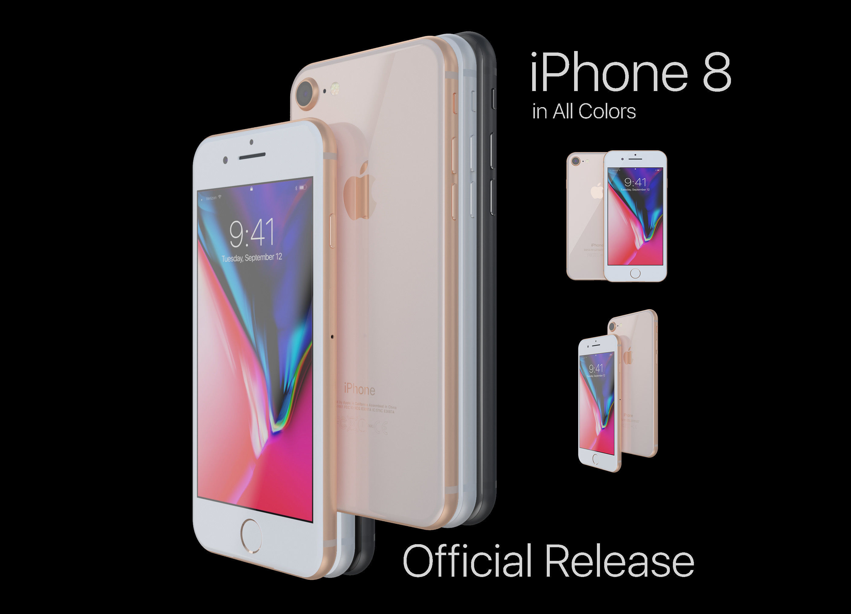 Apple iPhone 8 in All Color