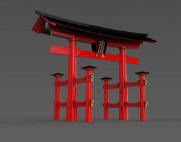 3D model Otorii Itsukushimi