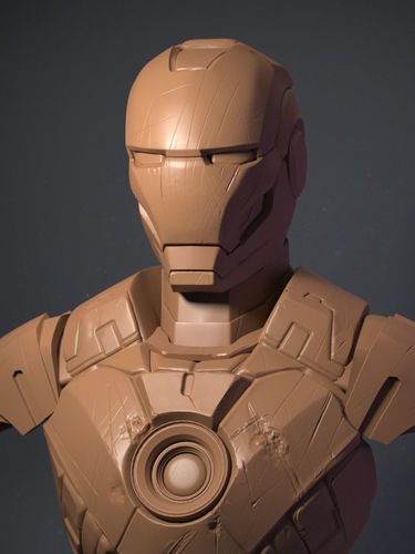 iron man  3d model obj mtl stl 1