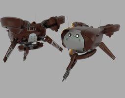 3D model Destiny Shank