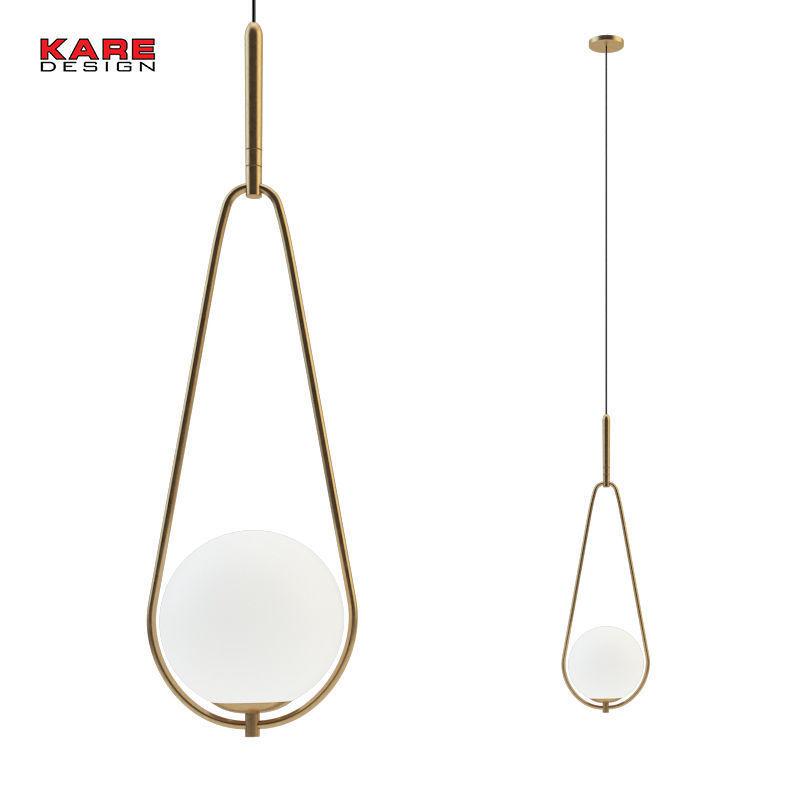 Fixture hanging Loop Brass