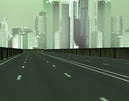 3D model The Matrix Freeway