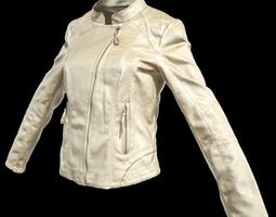 Champagne Jacket for Girl 3D Model