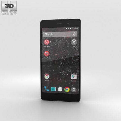 silent circle blackphone 2 3d model max obj mtl 3ds fbx c4d lwo lw lws 1