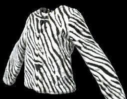 Zebra Jacket 3D Model