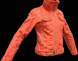 Fotoreal Women s Jacket 3D Model