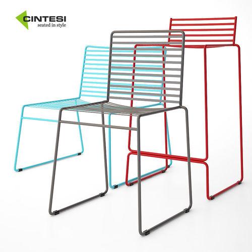 Arizona Wire | Cintesi Arizona Wire Chair Set 3d Cgtrader