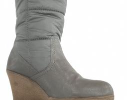 Winter Wedge Boots 3D Model