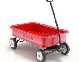 Child Wagon Toy 3D