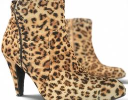 Leopard High Heels 3D Model