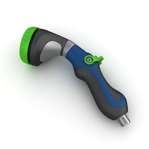 hose nozzle 02 3d model max obj mtl 3ds fbx 1