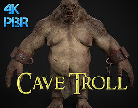 Cave Troll 3D model low-poly