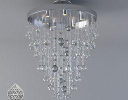 Crystal ceiling light 3D Model