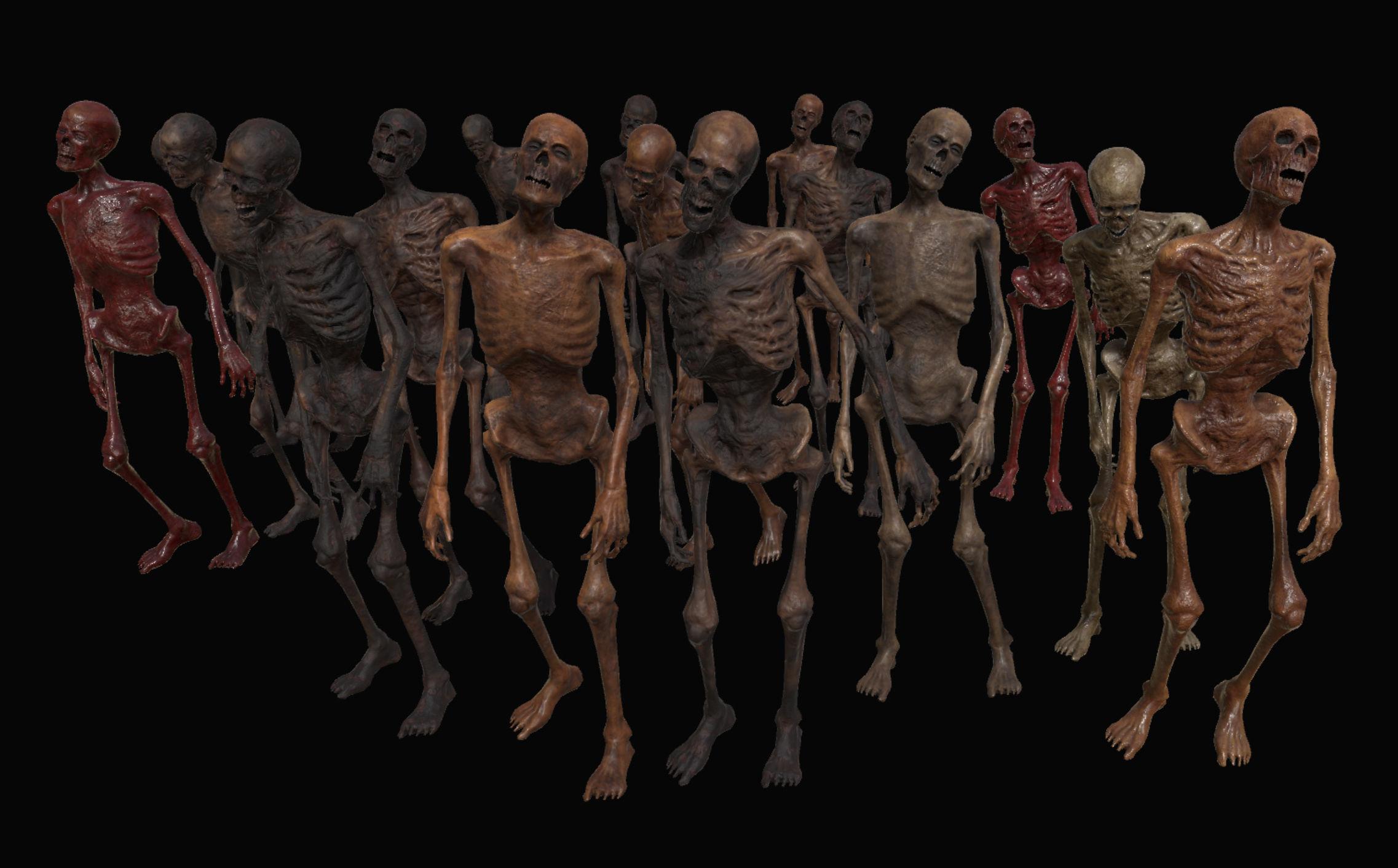 Skeleton Zombies