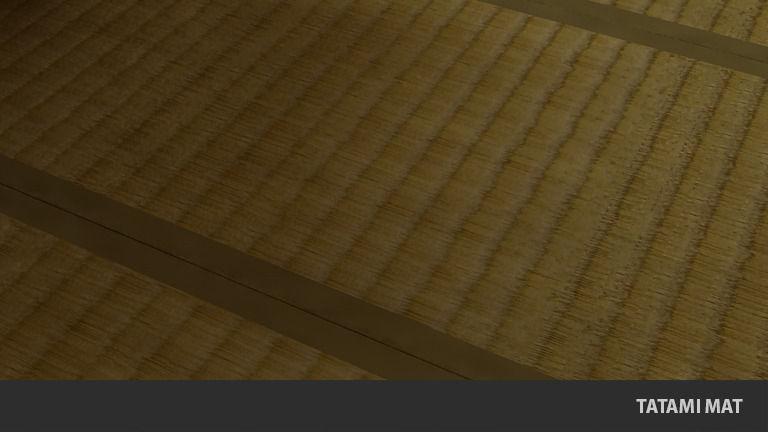 Tatami mat Traditional Japanese Flooring 3D Model Game ...