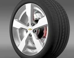 Chevrolet Volt wheel 3D Model