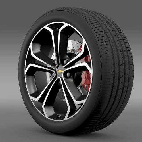 Chevrolet Volt Z spec concept wheel3D model