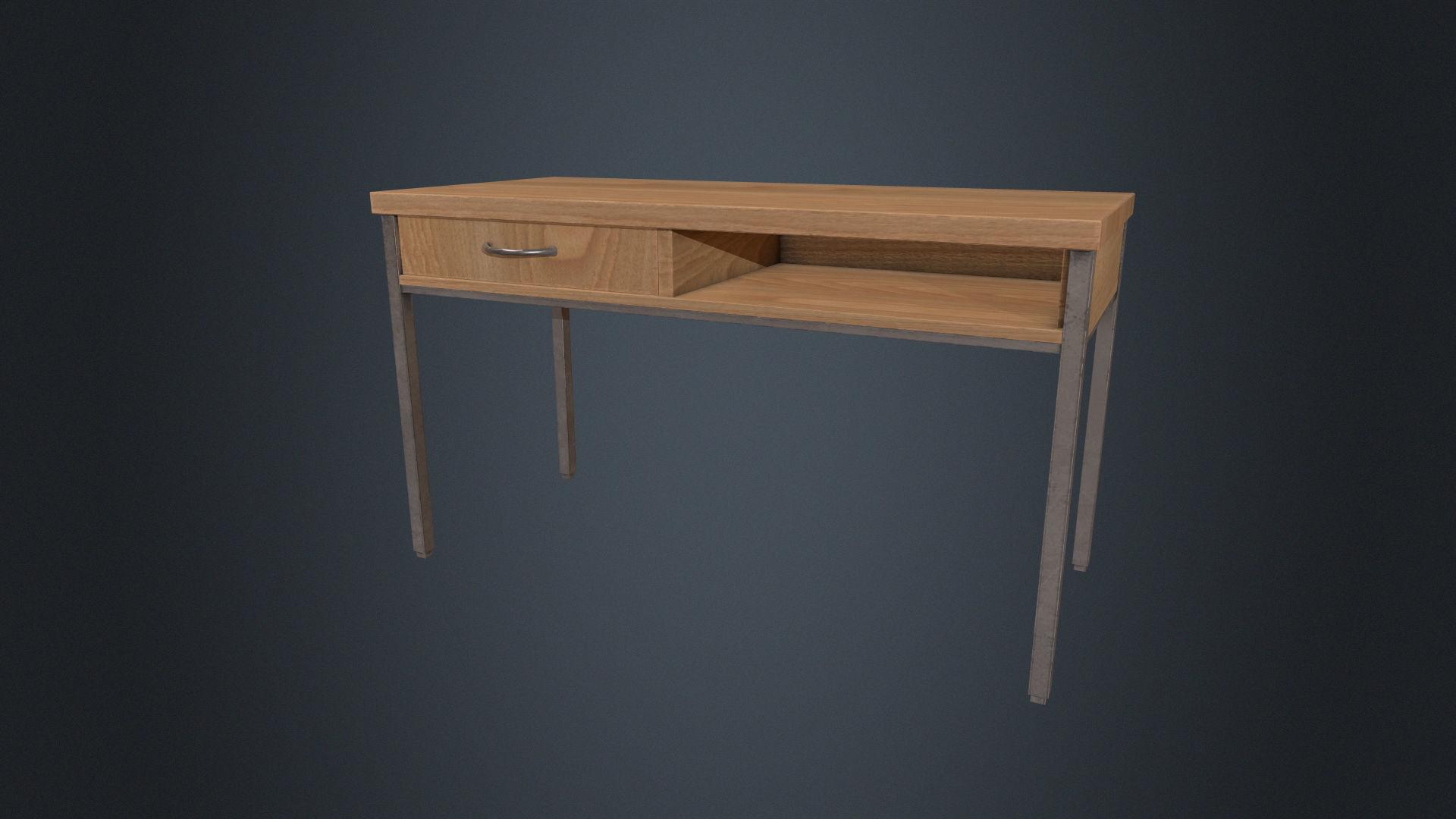 Beech Wood Desk - Office Desk - Desk - Beech Desk - Furniture
