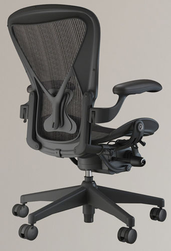 Herman Miller Aeron Chair Model Max Obj Mtl 1