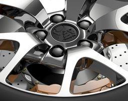 Holden Insignia VXR wheel 3D Model
