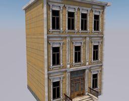 3D model lowpoly House 02