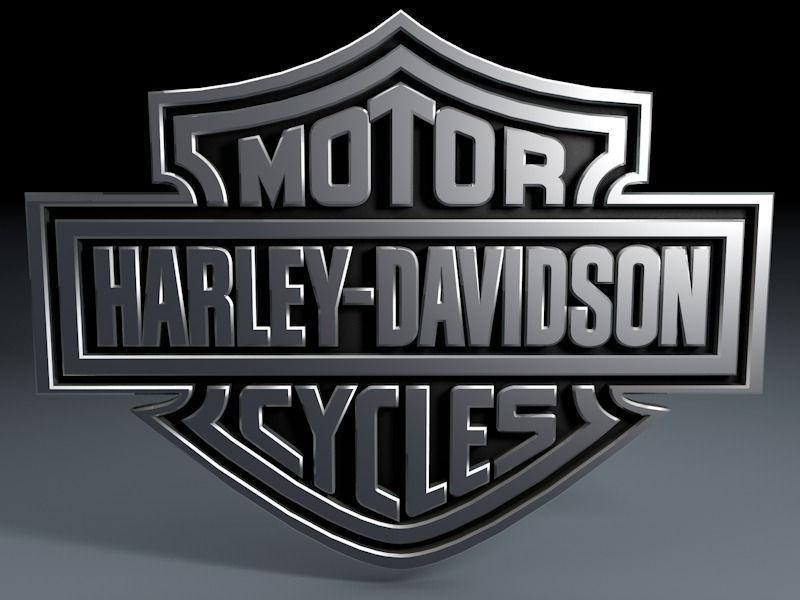 Harley Davidson logo 3D Model OBJ 3DS FBX C4D   CGTrader.com