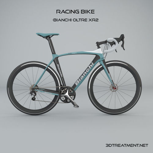 bianchi oltre xr2 racing bike 3d model obj mtl 3ds c4d 1