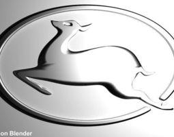 Button Logo Perodua Kancil Car 3D Model