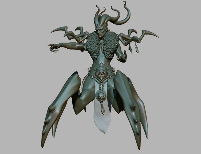 Baal Demon Diablo 3 posed - 3D Printable | CGTrader Baal Diablo 3