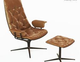Healey Soft armchair 3D