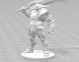 3D print model DotA 2 - Sven