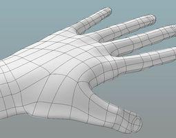 hands 3D print model