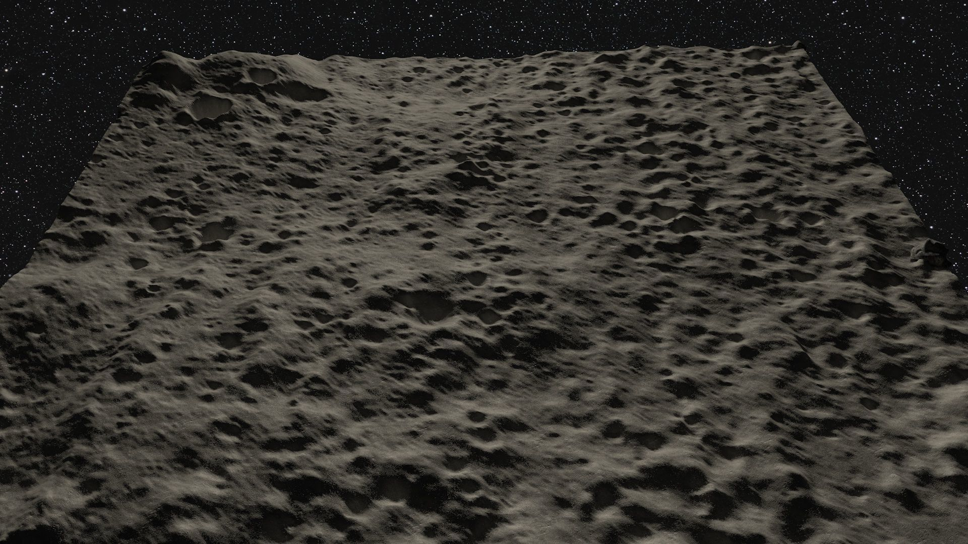 Realistic Moon Surface