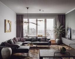3D Paris Luxury Apartment