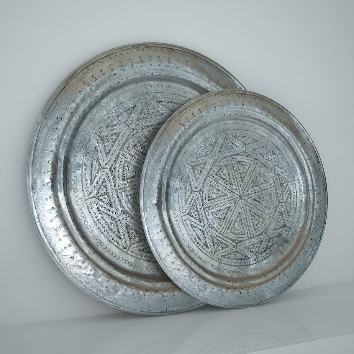Moroccan Antique Tray 3D model