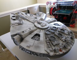 miniatures Millennium Falcon 3D print model