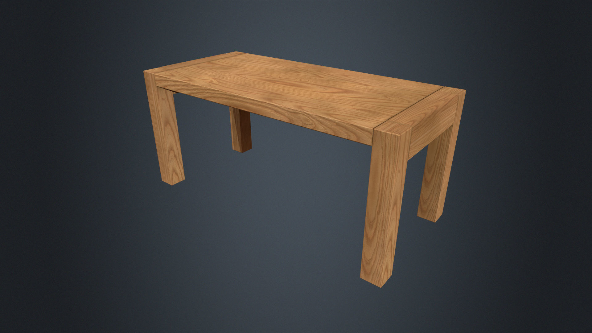 Wooden Table - Beech Table - Beech Furniture - Wood Furniture
