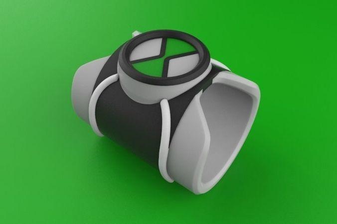 Omnitrex Ben Ten 3D Model STL