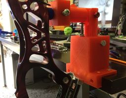 3D printable model Compound or recurve bow vice