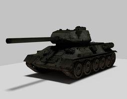 3D model Tank T34