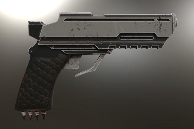 Red Hood Injustice 2 Gun Gun 3d Print Model Cgtrader