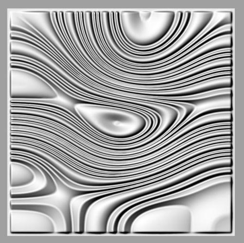 Tileable d relief sb for cnc model printable obj