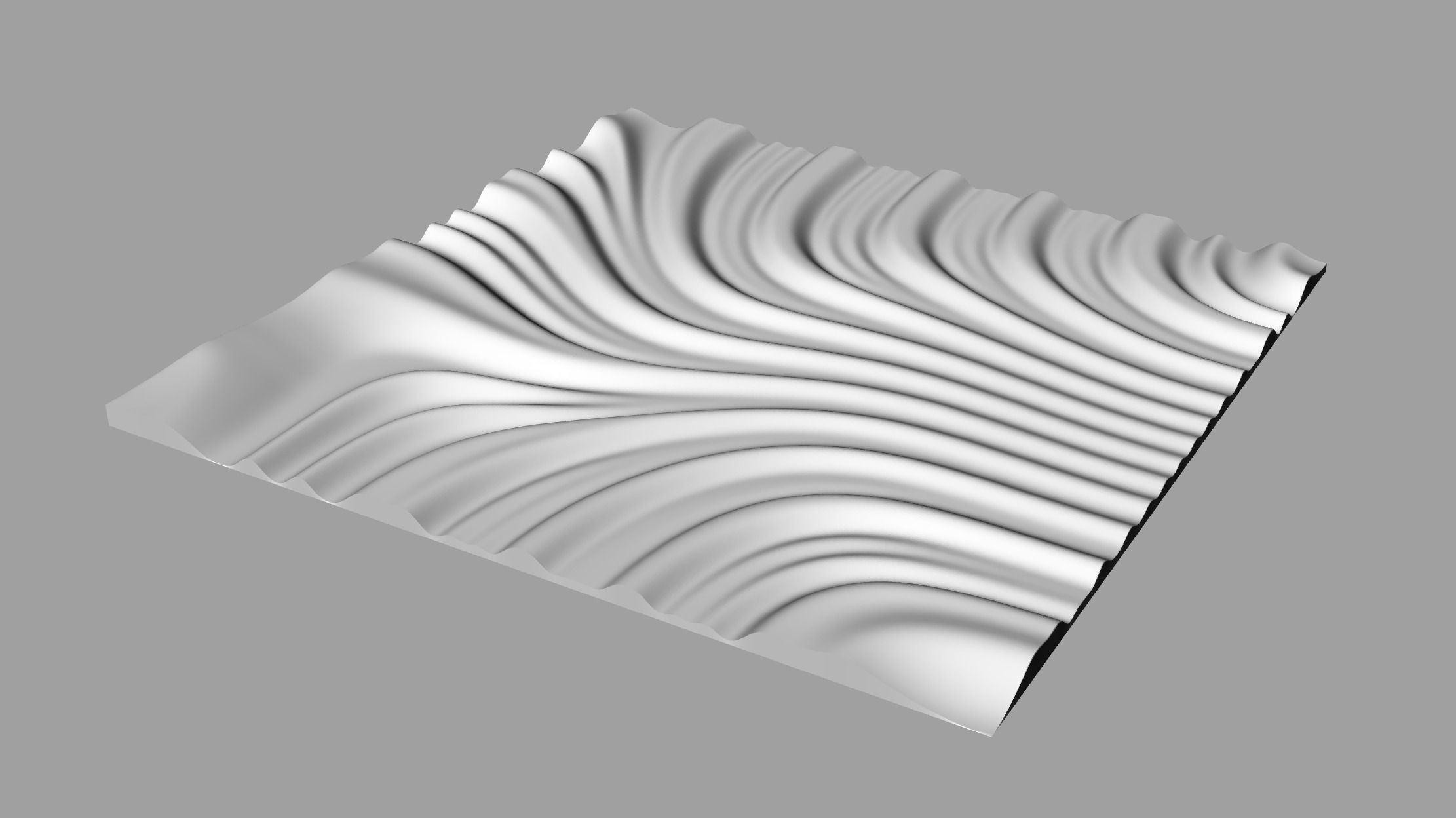 Tileable d relief sb for cnc model printable obj