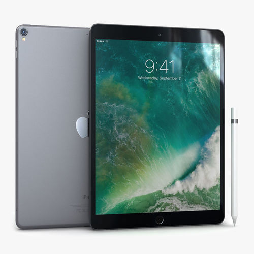 iPad Pro 10-5 2017 Space Gray with Pencil