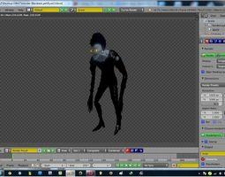 Death Note Ryuk model  3D Model
