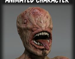 Mutant Hunter 3D model