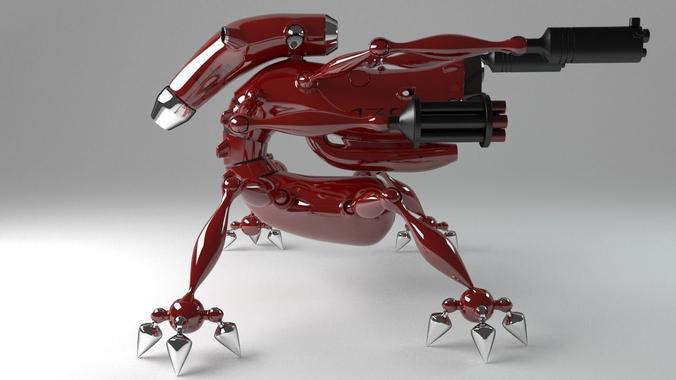 Fighting Robot3D model