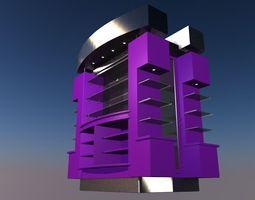 3D asset shop shelves